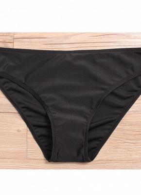 Women Plus Size Floral Sexy Bikini Set Swimsuit Skirt Brief Swimwear Bathing Suit_7