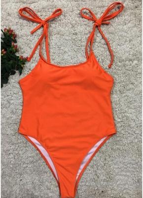 Sexy Women One Piece Swimsuit Swimwear Print Bodysuit Bandage Beach Wear Bathing Suit Backless Monokini_3