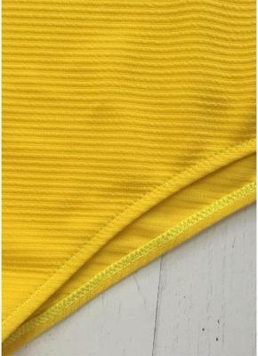 Une épaule Color Block Cutout Monokini Sexy femmes une pièce_4