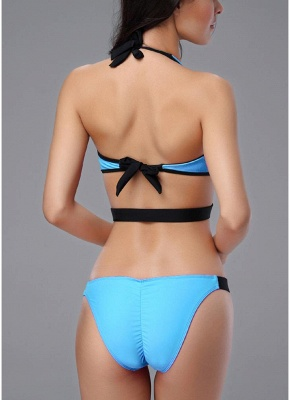 Front Zipper Backless Cut Out Low Waist Women One Piece Swimsuit_6