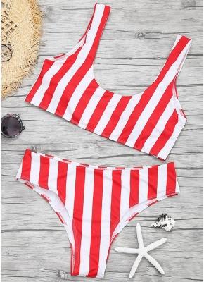 Women Color Block Bikini Set Push Up Padded Swimsuit Swimwear Bathing Suit_1