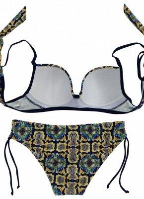 Women Sexy Bikini Set Underwire Push Up Top Bottom Swimwear Swimsuit Bathing Suit_6