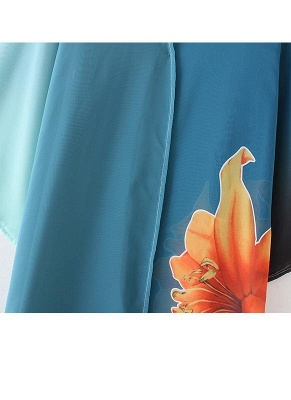 Women Chiffon Kimono Cardigan Beachwear_6