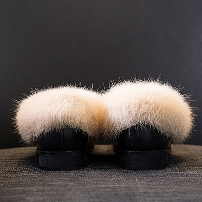 Chunky Heel Round Toe Casual Loafers_10