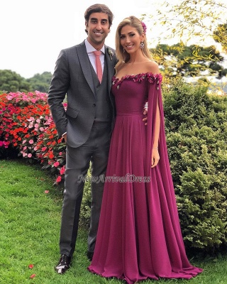 Formal Long Ruffles Chiffon Gorgeous Sweetheart Evening Gowns_3