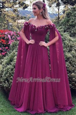 Formal Long Ruffles Chiffon Gorgeous Sweetheart Evening Gowns_4