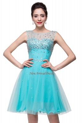 Sleeveless Open-Back Short Crystal Homecoming Dresses_6