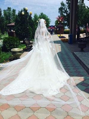 Elegant Cheap Mermaid Long Sleeve Lace Wedding Dresses | Elegant Lace Appliques Detachable Skirt Bridal Gowns_3