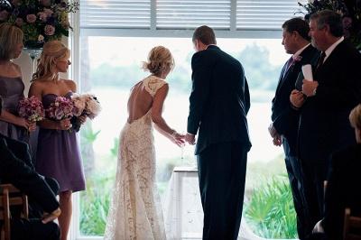 Robe de mariée élégante en dentelle 2018 robes de mariée d'été sans manches dos ouvert_4