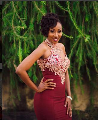 Halter Mermaid Long Prom Dress | Lace Appliques Formal Dress BA7749_5