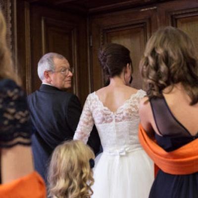 Tulle Designer Lace Appliques New Arrival Tea Length Charming Wedding Dresses_4
