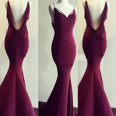 BurgundyProm Dress |Long Formal Dresses_3