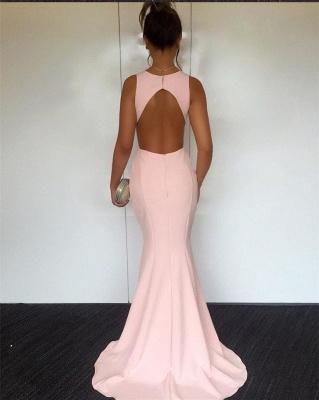 Newest V-neck Sleeveless Mermaid Prom Dress | Cheap Prom Dress_4