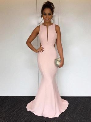 Newest V-neck Sleeveless Mermaid Prom Dress | Cheap Prom Dress_1