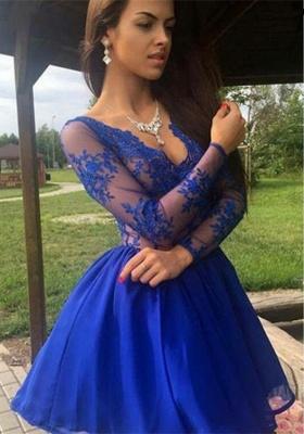 Royal Blue Short Formal Dress