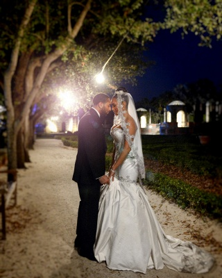 Mermaid Sweetheart Miami Cheap Wedding Dresses Sparkling Sequins Newest Bridal Gowns BA2987_5