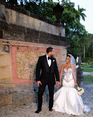 Mermaid Sweetheart Miami Cheap Wedding Dresses Sparkling Sequins Newest Bridal Gowns BA2987_6