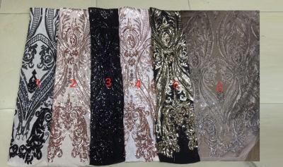 Long Sleeve Mermaid Gold Long Prom Dresses Cheap for Junior | V-neck Flowers Formal Dresses for Women BC1373_3